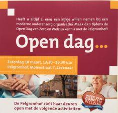Open dag Pelgromhof 18 maart 2017